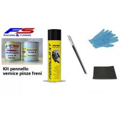 Vernice pinze freni kit completo pennello